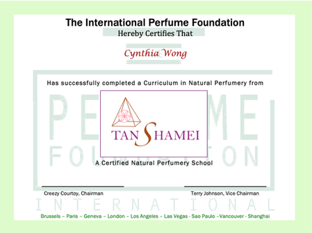 TTanshamei Natural Perfumery School
